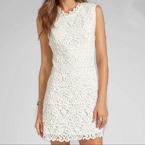 HP 🥳DOLCE VITA Jie Charleston White Lace Dress